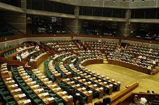 Empty parliament