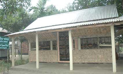 seed hut